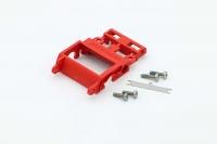 SI Performance Motor-Achshalter mit Federung (rot)
