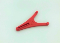 Slotcar-Ständer für Carrera D132 in rot  (Größe S)