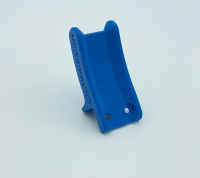 SI 3D Druck Reglerhalter aus ABS in blau