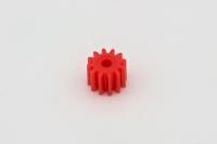 2mm Motorritzel Slotdevil 12 Zähne Kunststoff (Rot)